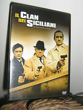 "FILM IN DVD  : ""IL CLAN DEI SICILIANI"" - Drammatico, Francia 1969"