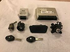BMW Z4 E85 2003 2.5i MANUAL COMPLETE LOCKSET EWS ECU BARRELS 2 KEYS 7531869