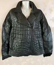 Y.A.S. womens 100% sheep leather jacket size:8-10 UK/36 brand new with tags