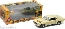Greenlight Walking Dead 1967 Ford Mustang Coupe Sophia Message Car 1:18 Scale