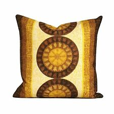 Vintage Retro 60s 70s Fabric Cushion Cover VW Mod