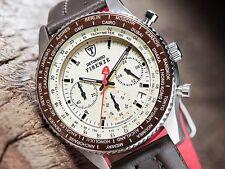 DETOMASO FIRENZE BEIGE Cronografo Seiko movimento dell'orologio UVP 129,-, rivenditore