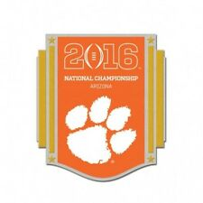 Official 2016 College Football National Championship Game Pin Clemson Tigers