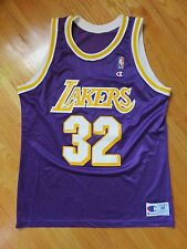 Vintage Champion MAGIC JOHNSON No. 32 LOS ANGELES LAKERS (Size 48) Jersey