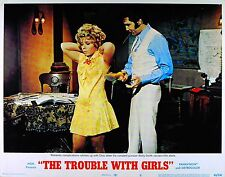 TROUBLE WITH GIRLS 1969 Elvis Presley Nicole Jaffe LOBBY CARD #8