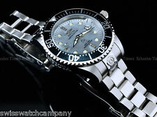 Invicta Men 47mm Grand Diver Diamond Limited Ed Automatic Platinum MOP SS Watch