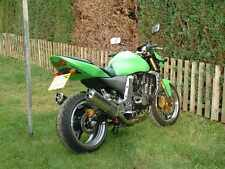 Kawasaki Z1000 2003-2006 ZR1000A Stainless Oval Twin Outlet Road-legal Exhausts