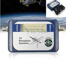 DVB-T SF95DT Mini Digital TV Antenna Satellite Signal Finder Meter w/Compass