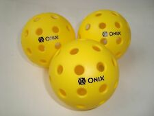 NEW 3 ONIX PURE2 PICKLEBALL BALLS OUTDOOR ONIX PURE TOURNAMENT PLAY Meets USAPA