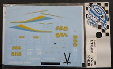 DECALS F'ARTEFICE FL-0022 F1 1/43 BAR 01 PRESENTATION 555