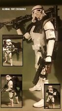 STAR WARS BLACK SERIES 6 INCH SCALE IMPERIAL SANDTROOPER HASBRO BLACK PAULDRON