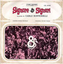 OST=Carlo Rustichelli-Signore & Signori (Colonna Sonora Originale) 45 giri EX+