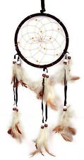 UP HOT Dream Catcher Net With Feather Circular Wall Hanging Car Home Decor Gift
