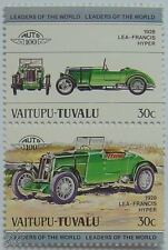 1928 LEA-FRANCIS HYPER Car Stamps (Leaders of the World / Auto 100)