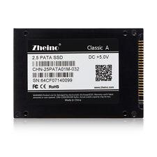 """ZHEINO 2.5"""" IDE/PATA SSD 32GB For IBM X31 X32 T41 T43 V80 R60 DELL D610  D810"""