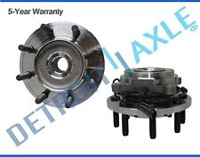 Both (2) New Front Wheel Hub & Bearing Assembly Dodge Ram 2500 3500 Pickup 4x4