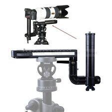 Long-Zoom Lens Holder Camera Quick Release Plate for Ball Head Tripod Mount Ring