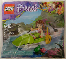 New Lego Friends 30115 Olivia's Jungle Air Boat with Frog Minifigure Polybag