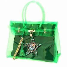 borsa donna verde SHOP ART accessori borsetta bag women denny rose