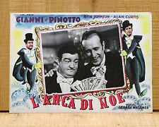 L'ARCA DI NOè poster fotobusta Bud Abbott Lou Costello The Naughty Nineties B92