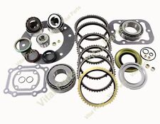 S547 S-547 Ford ZF Truck 5sp Transmission Rebuild Kit 1996-ON With OEM Synchros