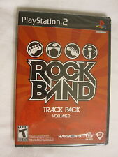 Rock Band Track Pack Volume 2 (Playstation PS2) Brand New, Sealed!