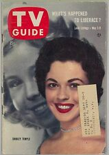 May 3, 1958 TV Guide magazine with Shirley Temple on the cover