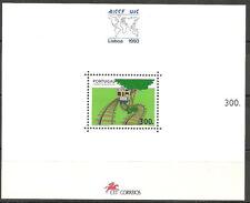 Portugal - Intern. Eisenbahnkongress Block 96 postfrisch 1993  Mi.Nr. 1980