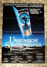 UNHEIMLICHE SCHATTENLICHTER * A1-FILMPOSTER - German 1-Sheet ´84 TWILIGHT ZONE