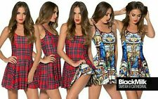 Black Milk BNWT* TARTAN RED VS CATHEDRAL IOD 1.0 M - ABSOLUTE MUSEUM DARLING!��