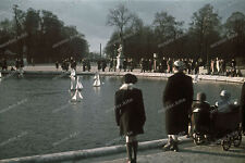 Farb-Dia-Paris-Jardin Tuileries-Île-de-France-agfacolor-R.Bothner-1940-land-2