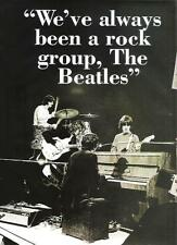 """BEATLES were a rock group magazine PHOTO / Pin Up / Poster 11x8"""""""