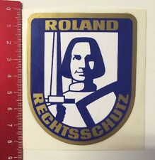 Pegatina/sticker: roland protección jurídica (0803163)