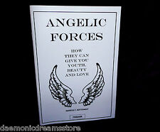 ANGELIC FORCES Finbarr MARCUS T BOTTOMLEY Occult Grimoire Magic Magick Occult