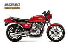 SUZUKI Poster GSX1100 GS1100 1980 1981 Suitable to Frame