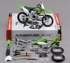 Free Shipping Maisto 1:12 Kawasaki KX 450F Assembly DIY Motorcycle Bike Model