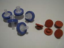 Syringe filter & injection port kit - for oyster mushroom liquid culture lids