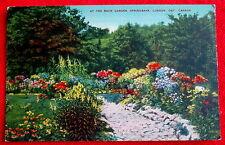Rock Garden at Springbank Gardens London Ontario c