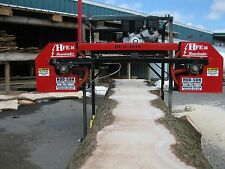 2016 HFE 36 Portable Sawmill Portable Bandmill Band mill lumber saw mill