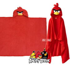Angry Birds Hooded Fleece Blanket Cape New Gift Go