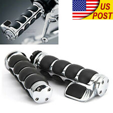 "1"" Motorcycle Handle Bar Hand Grips For Honda Shadow VT ACE Spirit VLX 600 750"