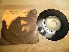 GEORGE HARRISON MY SWEET LORD / ISN´T IT A PITY 1970 APPLE RECORDS NCB DENMARK