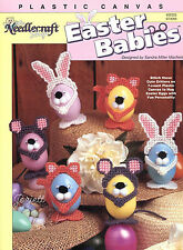 Easter Babies ~ Cat Bunny Mouse Animal Eggs plastic canvas patterns