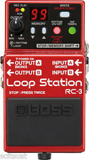 Roland Boss RC-3 Loop Station Guitar Effects Pedal Live Hardware Guitar Bass