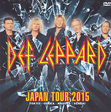 DEF LEPPARD – 'JAPAN TOUR 2015' JAPANESE DVD