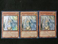 YU-GI-OH CARD 3X SDBE-EN006 MAIDEN WITH EYES OF BLUE SUPER RARE MINT