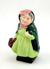 "VINTAGE ROYAL DOULTON FIGURINE DICKENS'S CHARACTER ""SAIRY GAMP"" MINT"