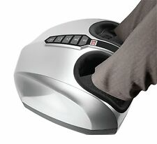 Enpee Comfy Deep Kneading Shiatsu Foot Feet Massager with Heat Vibration Knead