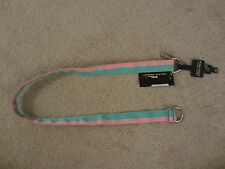 $85 NWT RLX POLO RALPH LAUREN Golf Women's Grosgrain Pink Nylon Belt Size M Med