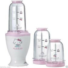 NEW Hello Kitty Titanum Cutter Speed blender Mixer kitchen Appliances - 2 CUPS
